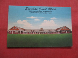Sheridan Court Motel  Williamsville  - New York   Ref    3563 - NY - New York