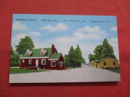Brown's Cabins  Niagara Falls New York   Ref    3563 - NY - New York