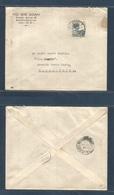 DUTCH INDIES. 1934 (10 Jan) Batavia - Macau (19 Jan) Via Hong Kong (19 Jan) Comercial Tie Wie Goan. Chinesse Company Or - Nederlands-Indië