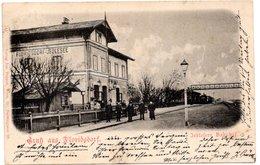 FLORIDSDORF, Bahnhof Floridsdorf - Jedlesee, Verlag Popper Wien, 9.10.1899 - Ohne Zuordnung