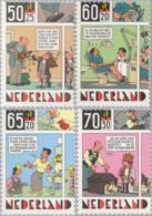 1984 Kind, Cartoons, Fiddler, Violin, Dentist, Dog  NVPH 1316-1319 Postfris/MNH/** - 1980-... (Beatrix)