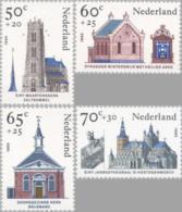1985 Zomer, Kerken, Church, Synagoge  NVPH 1324-1327 Postfris/MNH/** - Ongebruikt