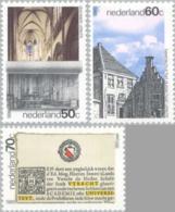 1986 Utrecht, Church, University Of Utrecht  NVPH 1355-1357 Postfris/MNH/** - Ongebruikt