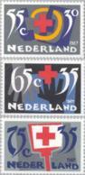 1987 Rode Kruis, Red Cross  NVPH 1381-1383 Postfris/MNH/** - Ongebruikt