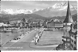 Luzern Mit Pilatus. (Voir Commentaires) - LU Lucerne