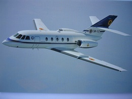 Avion / Airplane / FORCE AERIENNE BELGE / Dassault Falcon 20E-5 - 1946-....: Ere Moderne