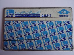 Télécarte MAROC ONPT 50 Unités Ittisalat Al Maghrib- Used Voir Scan - Maroc