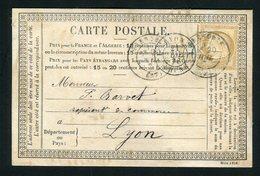 Rare Carte Annonce Publicitaire De Grenoble ( 1876 ) - Série 1125 - Postmark Collection (Covers)