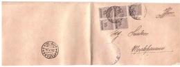 SOVRASTAMPA 10 CENT.X5 ANNULLO MONTEPARANO ( 79 - 19 ) - 1900-44 Vittorio Emanuele III