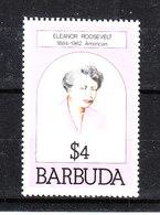Barbuda   -  1981.  Eleanor  Roosevelt. MNH - Donne Celebri