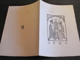 VILLE D'ANVERS-17/06/1930-INVITATION /MENU-REPRESENTATION VISITE JOURNALISTES ITALIENS - Documentos Históricos