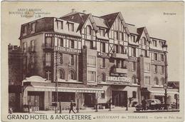 22 Saint Brieuc Grand Hotel  Angleterre  Restaurant Des Terrasses - Saint-Brieuc