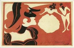 Ballo In Maschera, Riproduzione Da Orig., Reproduction, Illustrazione, F. Laskoff Illustratore (F04) - Fantasia