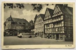 (896) Soest - Die Stadt Des Deutschen Mittelalters - Am Markt - Engel Apotheke - 1952 - Soest