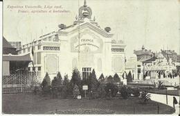 Liége -- Exposition Universelle De Liége 1905 - France, Agriculture Et Horticulture.    (2 Scans) - Liege