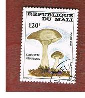 MALI - SG 1065 - 1985  MUSHROOMS: CLYTOCYBE NEBULARIS  -  USED° - Mali (1959-...)