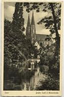 (897) Soest - Die Stadt Des Deutschen Mittelalters - Wiesenkirche - 1952 - Een Zwaan - Soest