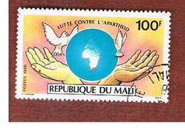 MALI - SG 1088 - 1986 ANTI-APARTHEID CAMPAIGN   -  USED° - Mali (1959-...)