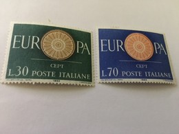 Italy Europa 1960  Mnh - 1946-60: Mint/hinged