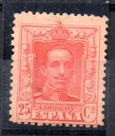 Sello Nº 317  España - 1889-1931 Reino: Alfonso XIII