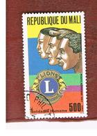 MALI - SG 1129   - 1987  LIONS INT.  -  USED° - Mali (1959-...)