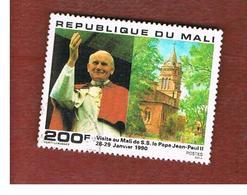 MALI - SG 1155   - 1990 GIOVANNI PAOLO II VISIT  -  USED° - Mali (1959-...)