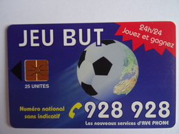 Télécarte MAROC JEU BUT 25 Unités GEM1A, AVE PHONE, Used, Très Bon état Voir Scan - Marokko