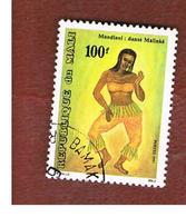 MALI - SG 1169   - 1991 MALINKE DANCE -  USED° - Mali (1959-...)