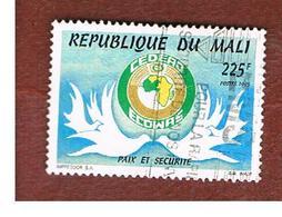 MALI - SG 1368   - 1995  ECOWAS ANNIVERSARY: DOVES -  USED° - Mali (1959-...)