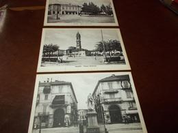 B733   3 Cartoline Saluzzo Cm14x9 Non Viaggiata - Italia