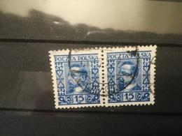 FRANCOBOLLI STAMPS POLONIA POLAND 1928 USED HENRYK SIENKIEWICZ POLSKA - 1919-1939 Repubblica