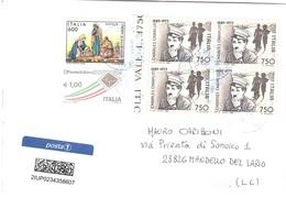 AFFRANCATURA MISTA POSTA 1 - 6. 1946-.. Repubblica
