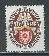 Deutsches Reich Mi 434 * MH - Ungebraucht