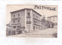 CPA : 14 X 9  -  Fuenterrabia.  -  Hôtel  Mouriscot, Terrasa Con Vista à La Bidasoa. - Guipúzcoa (San Sebastián)