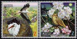 Ukraine - 2019 - Europa CEPT - National Birds - Mint Stamp Set - Ukraine