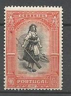 PORUGAL N° 450 NEUF* TRACE DE CHARNIERE TB / MH - 1910-... République