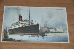 6494   CUNARD WHITE STAR, R.M.S. SAMARIA - Steamers