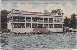 Bathing Pavilion, Exposition Park, On Conneaut Lake, Pa. 1016 - Etats-Unis