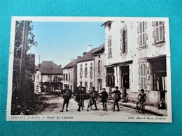 SERVANT  -  Route De Lalizolle - EdiT Merceel Brun Coiffeur - Francia