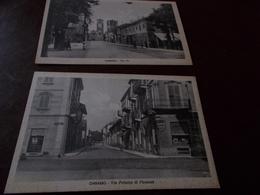 B733   2 Cartoline Chivasso Non Viaggiate Cm14x9 - Italia