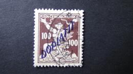 Czechoslovakia - 1927 - Mi:CS P47A, Sn:CS J50, Yt:CS T52 Used - Look Scan - Portomarken