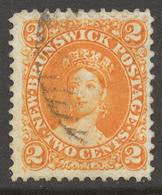 New Brunswick 1860-63 SG# 10 - Oblitérés