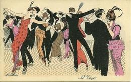 Le Tango, Riproduzione Da Orig., Reproduction, Illustrazione, Xavier Sager Illustratore (F16) - Fantaisies