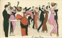 Le Dernier Tango, Riproduzione Da Orig., Reproduction, Illustrazione, Xavier Sager Illustratore (F17) - Fantaisies