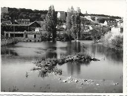 CHARENTE - ANGOULEME - PHOTO ORIGINALE  - QUARTIER DE LA GRAND FONT INONDE APRES BOMBARDEMENT 15 JUIN 1944 - Angouleme