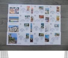 Lot De 12 FDC France 2003 : La France à Vivre, La France à Voir - FDC