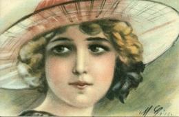 Viso (Volto) Di Ragazza, Riproduzione Da Orig., Reproduction, Illustrazione, (F19) - Donne