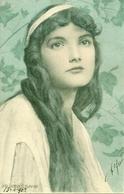 Ragazza, Riproduzione Da Orig., Reproduction, Illustrazione, Henry Ryland Illustratore (F20) - Donne