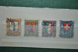 Suisse 1923 Oblitérés Complet - Oblitérés