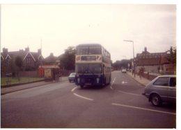 35mm ORIGINAL PHOTO BUS TOWN CENTER DEPOT - F085 - Postcards